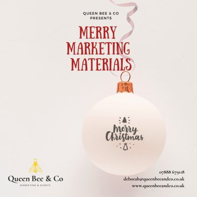 Give Your Business that Edge with some Merry Marketing Materials