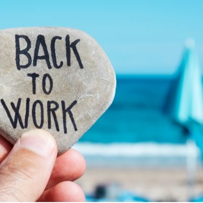 Back to Work – Spend Time Doing What you do Best